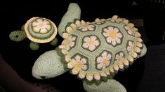 Ravelry: Project Gallery for Atuin the African Flower Turtle Crochet Pattern pattern by Heidi Bears