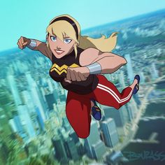 Young Justice Invasion Wonder Girl promo