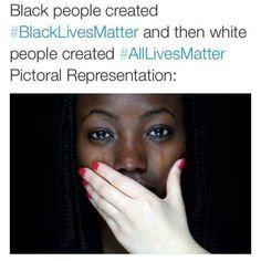 A beautiful illustration of the concept of #AllLivesMatter vs. #BlackLivesMatter  @blklivesmattter @unitedblackout