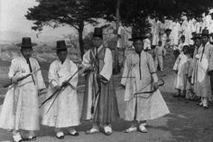 Korean archers from the Chosen Kingdom. Joseon (July 1392 – August 1910) (also Chos?n, Choson, Chosun), was a Korean sovereign state founded by Taejo Yi Seong-gye that lasted for approximately five ce