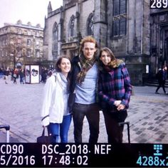 Sam in Edinburgh