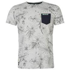 SoulCal | SoulCal AOP Pocket T Shirt Mens | Mens T Shirts
