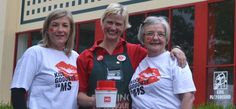 Watch out for Kiss Goodbye to MS volunteers at Bunnings stores around Australia throughout May!