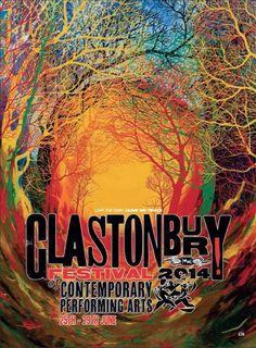 Glastonbury festival poster 2014
