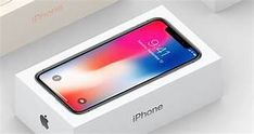 Ready to Glide, This is what the iPhone X Packaging Box Art Apple Iphone, Sell Iphone, Iphone 8, Free Iphone Giveaway, Smartphone, Video X, Face Id, Apple Inc, Tablets