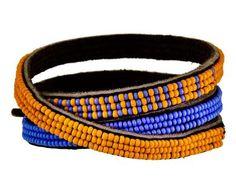 Chan Luu   Riviera Beaded Triple Wrap Bracelet in Designers Chan Luu Bracelets at TWISTonline