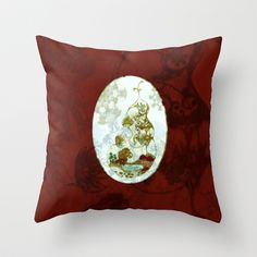 Pseudo Pompous  Venus- The Gilded Terrarium Throw Pillow by Pseudo Pompous  - $20.00