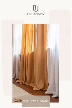 A new addition to our basics range, the Alegre Curtain is made with 100% flammé cotton, a semi-transparent fabric that uses yarns of various sizes to create a structured, almost linen-like finish. When placed in the window, the details in the cotton is highlighted, giving the collection a simple charm. The collection was made in Portugal and complies with Oeko Tex-certification standards. Discover more from URBANARA. Natural Bedroom, Soft Blankets, Linen Bedding, Curtains, Pillows, Simple, Fabric, Home Decor, Linen Sheets