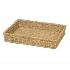 Seagrass Rectangle Letter Filing Tray Basket Hamper Basket, Basket Tray, Natural Interior, A4 Paper, Drawer Organisers, Storage Baskets, The Guardian, Shades Of Green, Things To Buy