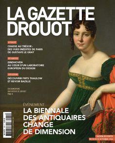 Gazette Drouot n°30 du 09 septembre 2016. #WebZine #ArtMarket #AncienArt #Girodet #Painting #Woman #Biennale