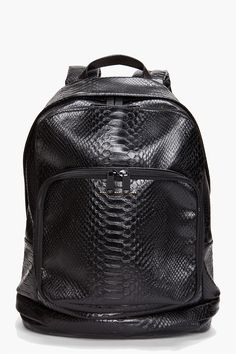 Marc by Marc Jacobs Python backpack