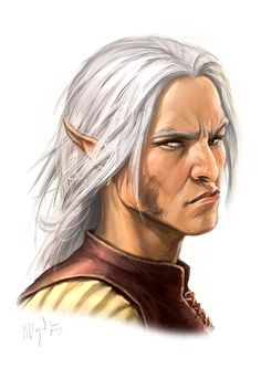 m High Elf Rogue Thief hilvl portrait male elf elder portrait whtbg Fantasy Portraits, Character Portraits, Character Art, Male Portraits, Elf Characters, Fantasy Characters, Fantasy Races, Fantasy Rpg, Dnd Elves