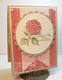 It's a Stamp Thing: Best of Flowers......Pink Hydrangea  #stampinup
