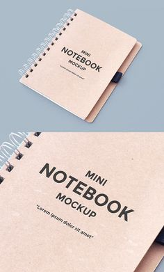 Free Notebook Mockup | alienvalley.com | #free #photoshop #mockup