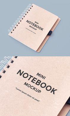 Free Notebook Mockup | alienvalley.com | #free #photoshop #mockup