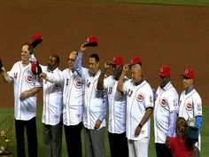 My favorite baseball team - the 1975/76 Cincinnati Reds.  The Big Red Machine!  How I wish I could've been in the baseball park this night in 2013.