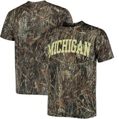 Michigan Wolverines All Over Print T-Shirt - Camo - $18.99