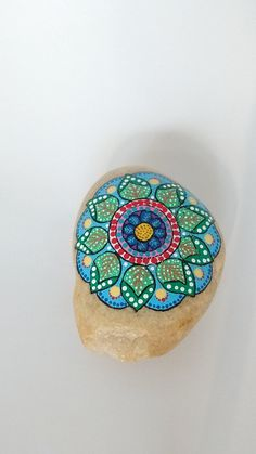 Individuellement peint à la main roches de par Carolsmandalarocks