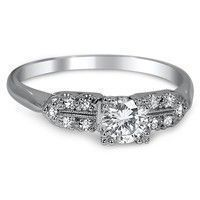 Vintage and Antique Engagement Rings | Brilliant Earth #vintagerings