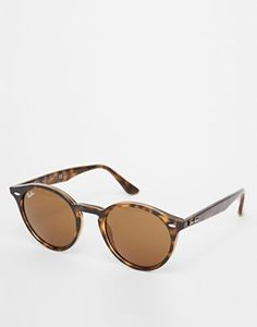 rayban sunglasses outlet  Ray-Ban - Round-Frame Tortoiseshell Acetate Sunglasses