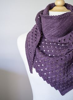 GumDrop by JumperCablesKnitting ($6.00) Worked diagonally