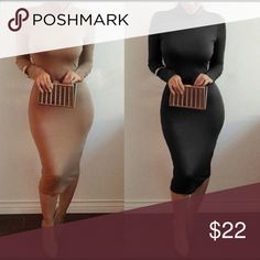 Like or comment if you are interested If you would like to be notified when these bodycon dresses arrive please like or comment. Dresses