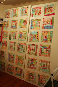 If you're looking for an inexpensive, portable, and easy way to lay out and design your quilt blocks, here's an easy do-it-yourself tut...