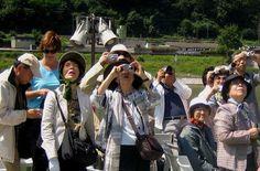Turistas asiaticos