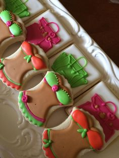 Flip flop cookies Royal icing Done for Celebrating Life Cakes St