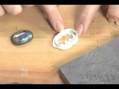 Setting a stone into a bezel