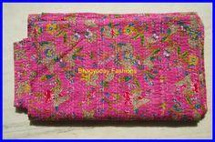 Textile Shop: OFFER ONLY 2 DAY'SBeautiful Handmade Kantha Quilt...