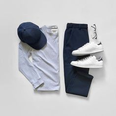 Best Smart Casual Outfits, Stylish Mens Outfits, Casual Summer Outfits, Cool Outfits, Retro Mode, Mode Vintage, Outfit Grid, Mode Streetwear, Mens Fashion