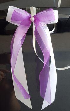 Hochzeitsdeko - 10 x Antennenschleifen Autoschleifen Autoschmuck - ein Designerstück von Junack-Event-Shop bei DaWanda