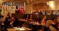 Mesero Miguel presents Mexican Menu + American Kitchen. Enjoy the space. Enjoy the food. Enjoy each other. Dallas