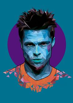 Fight Club trigonometrical actors 1 on Behance