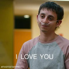 (fivefeetapartfilm) Moises Arias is Poe: confident, master chef, speaker of hard truths. 💪#FiveFeetApart in theaters March 15.