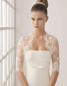 by Rosa Clara 2012. Love love triple love. What a dress!