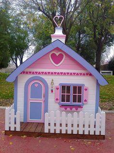 Casita de madera momo casas de madera para ni os parque de bolas jard n pinterest casa - Casa munecas eurekakids ...