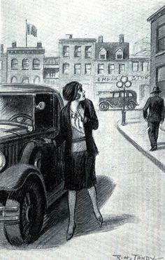 Her original car was a Roadster...