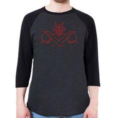 Great Mazinger Men's 3/4 Sleeve, Baseball Shirt