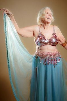 thehoruseye:Kay Furst: 100-years-young and still dancing. Mash'allah. Photo by Thomas Cordy (x)