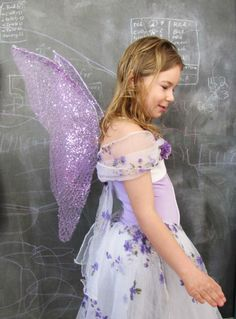 Fairy wings - attached with a main post and without straps TUTORIAL by Indietutes