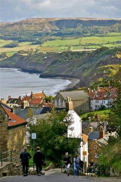 Robin Hood's Bay, England  photo via marta