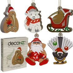 Santa Christmas, Xmas, Gifts For Kids, Great Gifts, New Zealand Houses, Kiwi, Sheep, Rooster, First Love