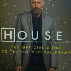 House, M.: The Official Guide to the Hit Medical Drama by Ian Jackman, Hugh Laurie 0061876615 9780061876615 Medical Series, Doctor Names, Gregory House, House Md, Hugh Laurie, Medical Drama, Used Books, Best Tv, This Book