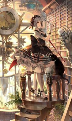 /r/Moescape is a place to post all of your favorite artworks and screen caps of cute Anime characters in their environment. Manga Girl, Anime Art Girl, Boys Anime, Manga Anime, Cute Anime Character, Character Art, Kawaii Anime, Neko, Top Imagem
