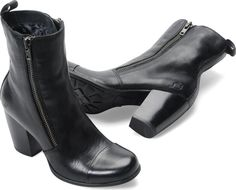Could these FINALLY be the replacement for my black Nine West boots?!  Born Womens Prue in Black on bornshoes.com