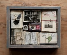 Memory box by Helena de la Guardia.                                                                                                                                                                                 More