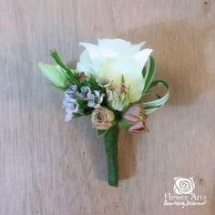 Buttonhole by www.flowerarts.net