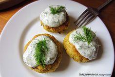 Kaszomania - pomysły na dania z kaszy jaglanej: Kotlety z kaszy jaglanej i ziemniaków
